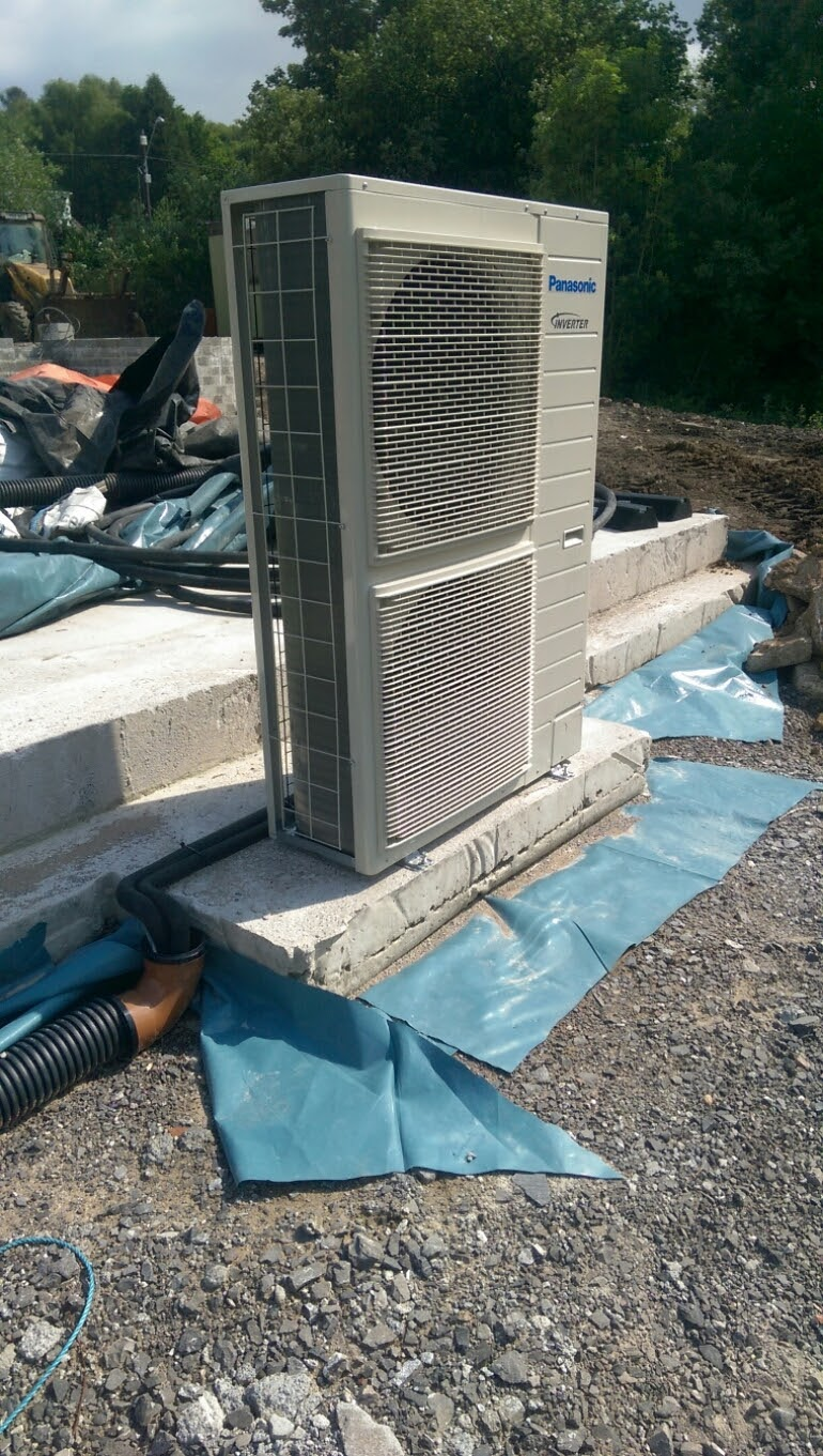 Air Source Heat Pumps – Perfect for a New Build